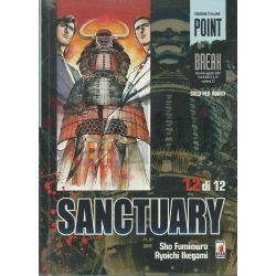 Sanctuary - Serie Completa 1-12   Point Break Da 10 A 21 Star Comics Giapponesi
