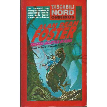 Trilogia Di Flinx 25 001 OM FOSTER Alan Dean  Tascabili Nord Omnibus Editrice Nord Fantascienza