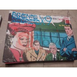 Agente Segreto X-9 12 GRAFF Mel  Yellow Kid Comic Art Vintage
