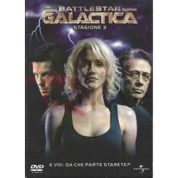Battlestar Galactica terza Stagione 3    Universal Pictures DVD