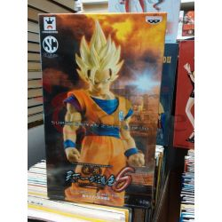Super Saiyan 2 Son Gokou – posizione a riposo (Scultures BIG)    Banpresto Figure Colosseum 6 Banpresto Action Figure