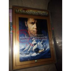 Master and commander  CROWE Russel  Le grandi battaglie Panorama DVD