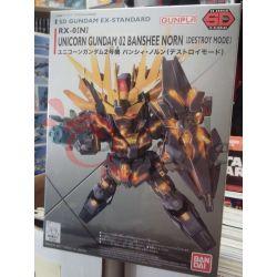 RX-0 [N] Unicorn Gundam 02 Banshee Norn (Destroy Mode) 0215857-600   GunPLa Bandai Scatola Di Montaggio
