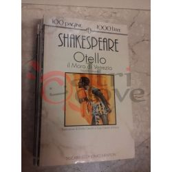 Otello il moro di Venezia 8 SHAKESPEARE William  100 pagine 1000 lire Newton Vintage