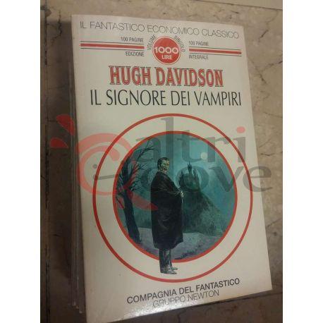 Il signore dei vampiri 25 Hugh Davidson  100 pagine 1000 lire Newton Fantascienza