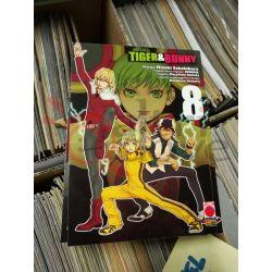Tiger & Bunny 8 SAKAKIBARA Mizuki   Star Comics Giapponesi