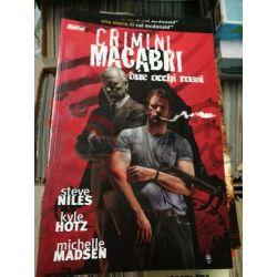 Crimini Macabri due occhi rossi  McDONALD Cal HOTZ Kyle Psycho Book 20 Magic Press Americani