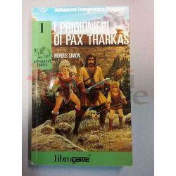 I Prigionieri Di Pax Tharkas 1   Advanced D&D Ed. E. Elle-Trieste Librogame