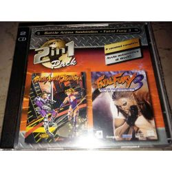 Battle Arena Toshinden - Fatal Fury 3    2in1 Pack  DOS Retrogame