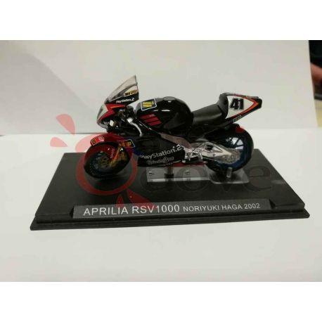 Aprilia RSV1000 Noriyuki Haga 2002    Grandi Moto da Competizione DeAgostini Vintage