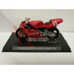 Cagiva 500 John Kocinsky 1994    Grandi Moto da Competizione DeAgostini Vintage
