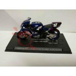 Yamaha R7 Deletang-Foret-Willis 2000    Grandi Moto da Competizione DeAgostini Vintage