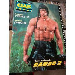 Ciak si gira 1985 Anno 1 n.8   dicembre Visibilia Editore Vintage