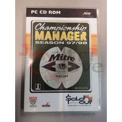 Championship Manager Season 97/98    Sold Out Eidos DOS Retrogame