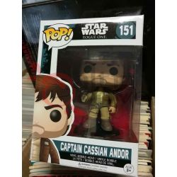 Captain Cassian Andor 151   POP Funko Action Figure