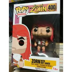 Zorn with hot sauce 400   POP Television Funko Action Figure