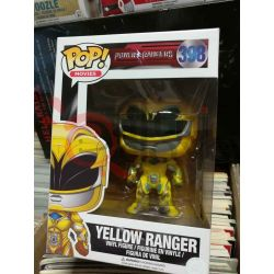 Yellow Ranger 398   POP Movies Funko Action Figure
