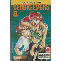 Geobreeders - Serie Completa 1-8  ITOH Akihiro Manga Sun Da 1 A 8 Panini Comics Giapponesi