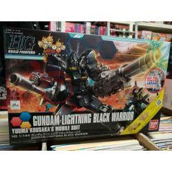 Gundam Lightning Black Warrior Yuuma Kousaka's Mobile Suit 0221286-1800   GunPLa 1/144 Bandai Scatola Di Montaggio