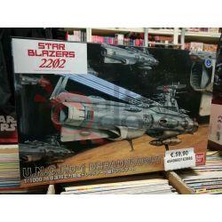Star Blazers 2202 U.N.C.F.D.-1 Dreadnought 0216388-4500   Scala 1/1000 Bandai Scatola Di Montaggio