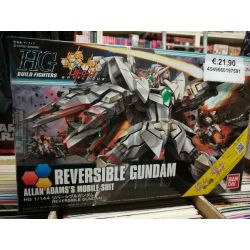 Reversible Gundam Allan Adams's Mobile Suit 0219759-1800   GunPLa 1/144 Bandai Scatola Di Montaggio