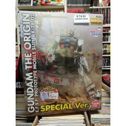 Gundam the Origin E.F.S.F. Prototype Mobile Suit RX-78-02 SPECIAL Vers. 0216898-5600   GunPLa 1/100 Bandai Scatola Di Montaggio