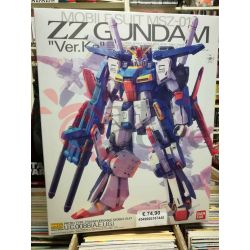 "Mobile Suit MSZ-01 ZZ Gundam ""Ver.Ka"" Proto Type Transformable Mobile Suit U.C.0088(A.E.U.G.) 0216744-6000   GunPLa 1/100 Bandai"