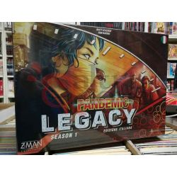 Pandemic Legacy Season 1 (Scatola Rossa)  LEACOCK Matt/DAVIAU ROB   Asterion Press S.r.l. Boardgame