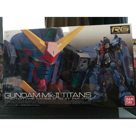 Gundam Mk-II Titans Prototype Mobile Suit RX-178 0175716-2500   GunPLa 1/144 Bandai Scatola Di Montaggio