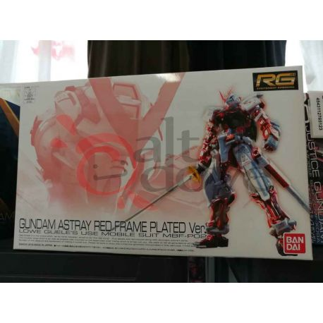 Gundam Astray Red Frame Plated Ver. Lowe Guele's Use Mobile Suit MBF-P02 0207884   GunPLa 1/144 Bandai Scatola Di Montaggio