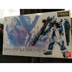 Gundam Astray Blue Frame Plated Ver. Gai Murakumo's Use Mobile Suit MBF-P03 0212969   GunPLa 1/144 Bandai Scatola Di Montaggio