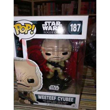 Weeteeff Cyubee 187   POP Funko Action Figure