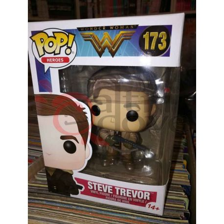 Steve Trevor 173   POP Heroes Funko Action Figure