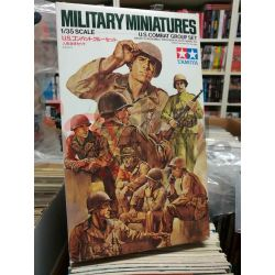 MM18 – U.S. Combat Group Set 35080   Military Miniatures Tamiya Scatola Di Montaggio