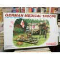 German Medical Troops Model Kit 6074   '39-'45 series Dragon Scatola Di Montaggio