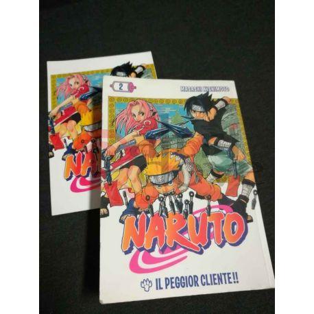 Naruto 2 KISHIMOTO Masashi  I Magazine de La Gazzetta dello Sport Panini Comics Vintage