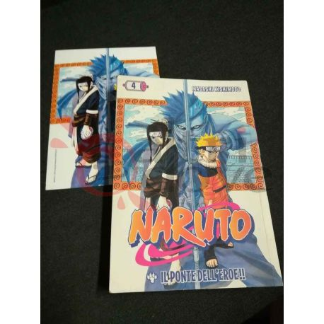 Naruto 4 KISHIMOTO Masashi  I Magazine de La Gazzetta dello Sport Panini Comics Vintage