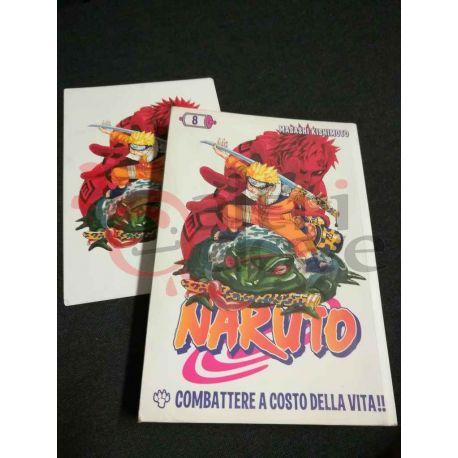 Naruto 8 KISHIMOTO Masashi  I Magazine de La Gazzetta dello Sport Panini Comics Vintage