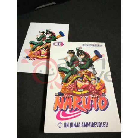 Naruto 10 KISHIMOTO Masashi  I Magazine de La Gazzetta dello Sport Panini Comics Vintage
