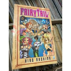 Fairy Tail (serie di 63) 5 MASHIMA Hiro  Young 172 Star Comics Giapponesi