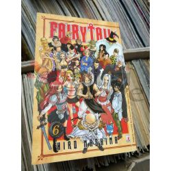 Fairy Tail (serie di 63) 6 MASHIMA Hiro  Young 174 Star Comics Giapponesi