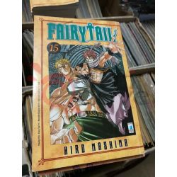 Fairy Tail (serie di 63) 15 MASHIMA Hiro  Young 193 Star Comics Giapponesi
