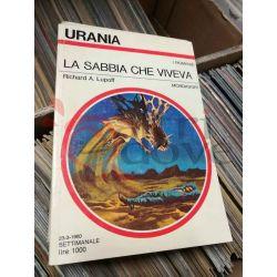 La sabbia che viveva  Richard A. Lupoff  Urania Mondadori Fantascienza