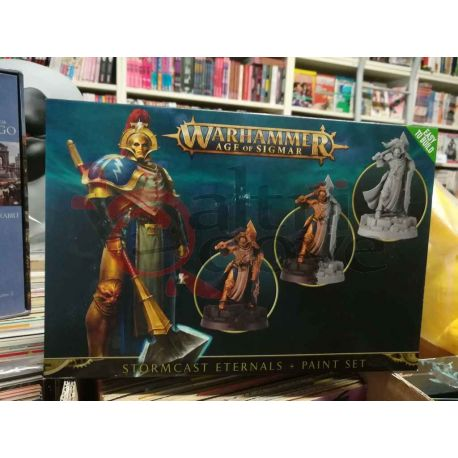 Stormcast Eternals painting set    Age of Sigmar Games Workshop Scatola Di Montaggio