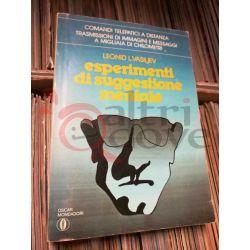 Esperimenti di suggestione mentale 859 LEONID L.VASILJEV  Oscar Mondadori Saggio