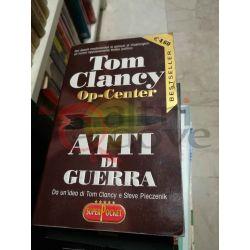 Atti di guerra Op.Center 175 Tom Clancy  super pocket Rizzoli Editore Romanzo