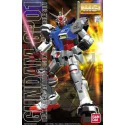 Gundam GP01 U.N.T. spacy prototype multipurpose mobile suit    Master Grade Bandai Scatola Di Montaggio