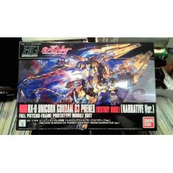 RX-0 Unicorn Gundam 03 Phenex (Destroy Mode) (Narrative Vers.) Full Psycho-Frame Prototype Mobile Suit    GunPLa 1/144 Bandai Sc