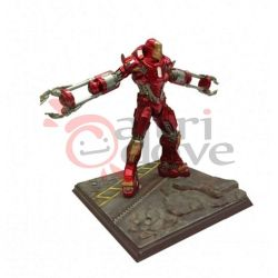 Iron Man 3 Mark 35 Red Shapper Armor #35604   Battlefield Collection Dragon Models Ltd. Action Figure