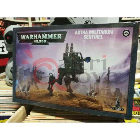 Astra Militarum Sentinel 99120105072   Warhammer Games Workshop Scatola Di Montaggio